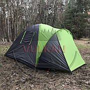 Палатка четырехместная двухтеновая Green Camp 1013-4