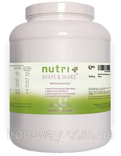 Nutri+ Shape & Shake 6K 2 kg  (Натуральный)