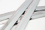 Дефлекторы окон (ветровики) хромированные KIA SPORTAGE 2010- (A477), фото 7