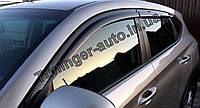 Ветровики, дефлекторы окон Hyundai Tucson 2015-2020 (Autoclover D054)