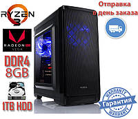 Системный блок NO Ryzen 3 2200G Z1 / Ryzen 3 2200G / DDR4 - 8Gb / 1TB-HDD