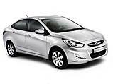 Ветровики, дефлекторы окон Hyundai Accent 2010г -> (Hic), фото 4