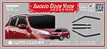Ветровики, дефлекторы окон Nissan Juke 2010- (Auto clover D056), фото 4