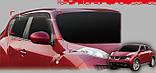 Ветровики, дефлекторы окон Nissan Juke 2010- (Auto clover D056), фото 5
