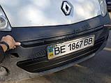 Зимняя накладка на решетку Renault Kangoo 2008-2013г.в. (Верх), фото 2