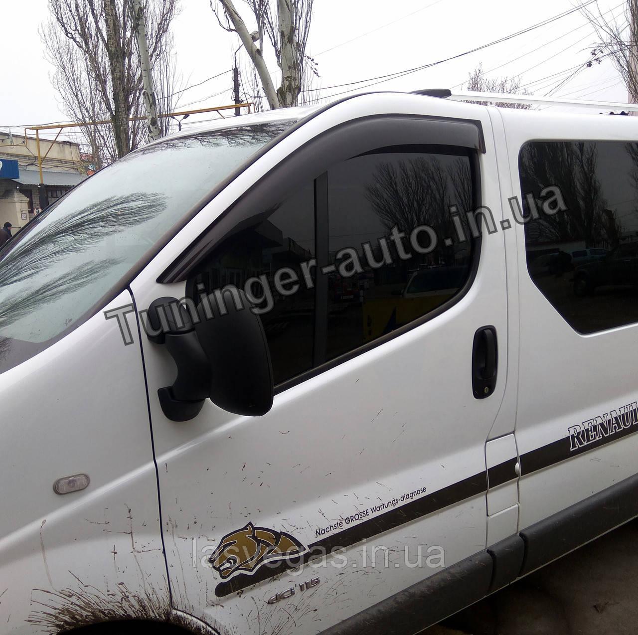 Ветровики, дефлекторы окон Renault Trafic/Opel Vivaro 2001-2014 (Anv)