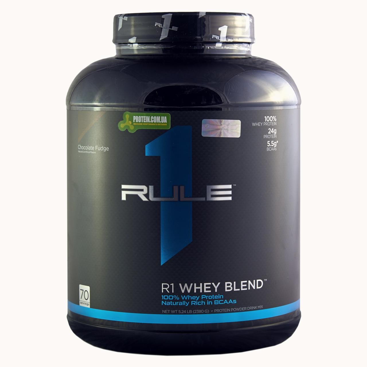 Протеин Rule1 Whey Blend 2,38 кг шоколад