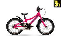 "Детский велосипед Haibike SEET Greedy Life 16"" розовый"