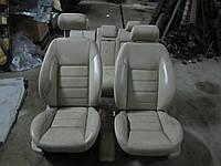Кожаный салон (бежевый) Jaguar X-type