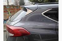 Накладка треугольник на крышку багажника (нерж) Hyundai Tucson TL 2016↗ гг.