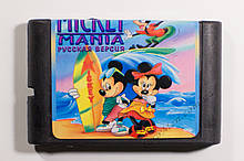 Картридж сега Mickey Mania
