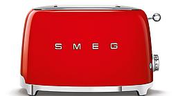 Тостер красный Smeg TSF01RDEU