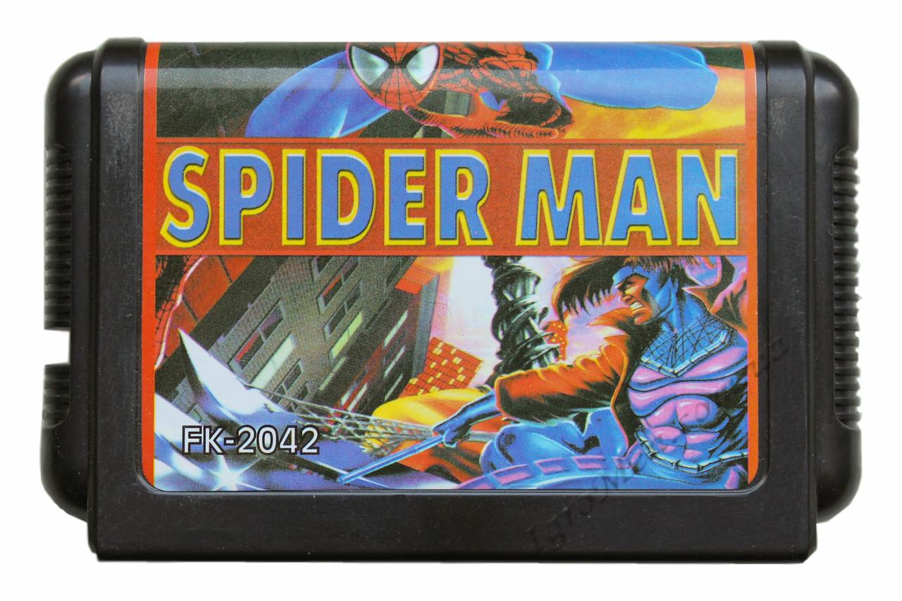 Картридж сега SpiderMan vs The Kingpin