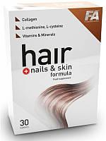 Витамины Fitness Authority Hair + Nails & Skin Formula 30tabl