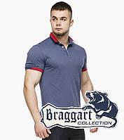 Braggart | Мужская тенниска 6618 джинс
