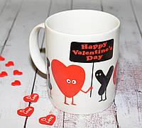 "Керамическая чашка ""Happy Valentines Day"""