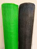"Сетка ""Птичка"" защитная рулон 1х100м., ячейка 12х14 мм. (зеленая, черная) Клевер, фото 4"