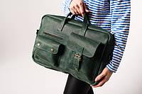 Уникальная женская кожаная сумка для ноутбука и документов | Деловая сумка из натуральной кожи