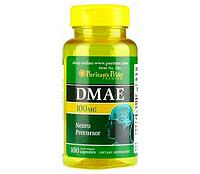 Ноотроп DMAE 100 mg Puritans Pride 100 caps