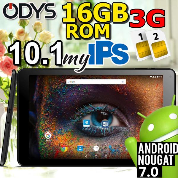 ОРИГИНАЛЬНЫЙ планшет - телефон Odys Falcon 10 PLUS 3G - дюймов, 2 SIM 3G 1/16