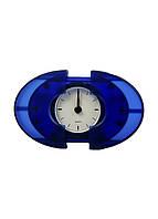 Настільні годинники Oval 9,5х7см Синій