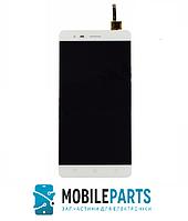 Дисплей для Lenovo A7020 | K5 Note (K52e78) с сенсорным стеклом (Белый) Оригинал Китай