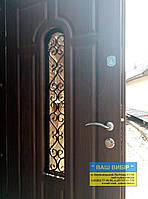 Двери входные  МЕТАЛ+КОВКА БЕСПЛАТНАЯ ДОСТАВКА, фото 1
