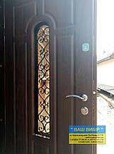Двері вхідні МЕТАЛ+КОВКА БЕЗКОШТОВНА ДОСТАВКА