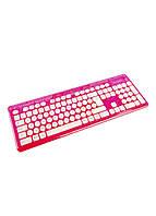 Клавиатура беспроводная Rock Candy PDP 44,5х15см Розовый, Белый, Серый