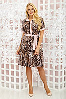 Платье Молли леопард, фото 1