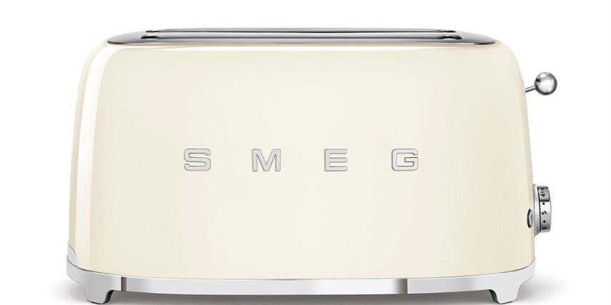 Тостер Smeg TSF02CREU кремовый