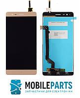 Дисплей для Lenovo A7020 | K5 Note (K52e78) с сенсорным стеклом (Золотой) Оригинал Китай