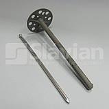 Дюбель крепления теплоизоляции с металлическим гвоздем и термозаглушкой, фото 3