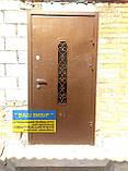 ДВЕРІ ВХІДНІ МЕТАЛ+КОВКА БЕЗКОШТОВНА доставка, фото 8