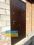 ДВЕРІ ВХІДНІ МЕТАЛ+КОВКА БЕЗКОШТОВНА доставка, фото 9