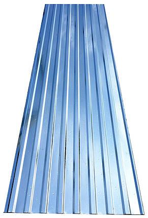Профнастил ПК-20, ПС-20, толщина 0,40 мм, оцинкованный 2-х метровый, фото 2