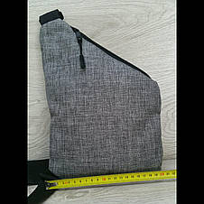 Мужская сумка барсетка  мессенджер четыре отдела, фото 3