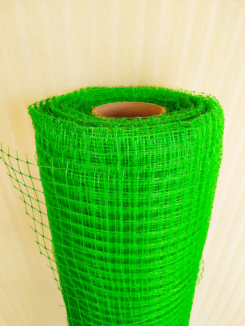 "Сетка ""Птичка"" защитная рулон 1х100м., ячейка 12х14 мм. (зеленая, черная) Клевер"