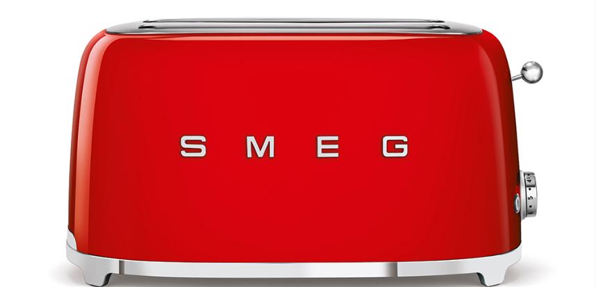 Тостер Smeg TSF02RDEU красный