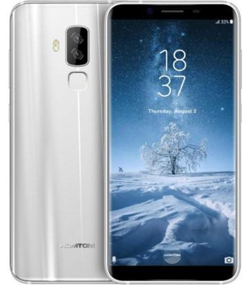 "Смартфон Homtom S8 4/64Gb Silver, 16+5/13Мп, 8 ядер, 2sim, экран 5.7"" IPS, 3400mAh, GPS, 4G, Android 7.0"