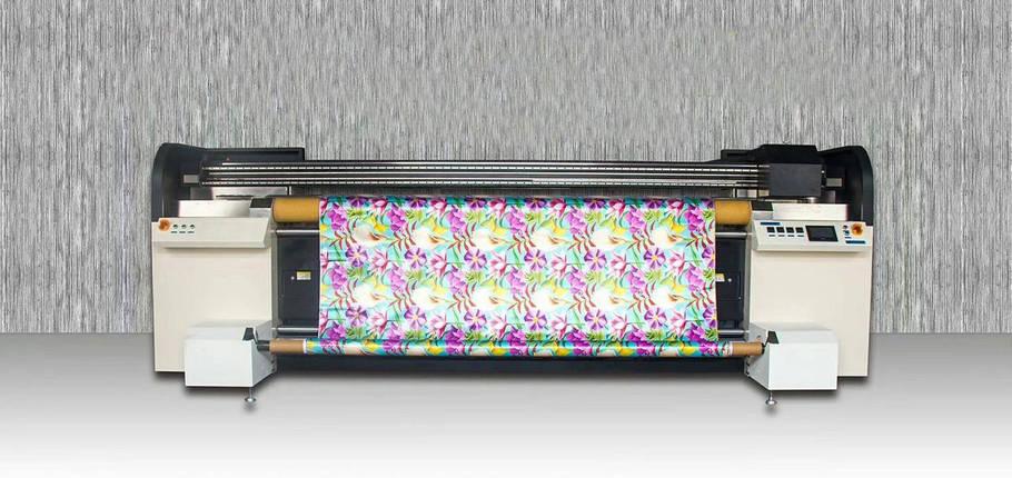 Широкоформатный текстильный принтер SAER CSR 2000, фото 2