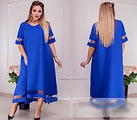 Платье летнее А-силуэта,  с 46-60 размер, фото 1