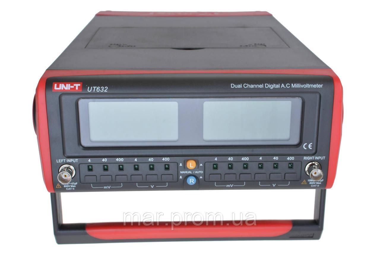Цифровой вольтметр переменного тока UNI-T UT-632