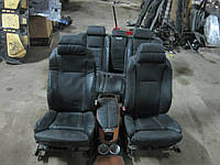 Кожаный салон (черный) BMW e65 7-series, фото 1