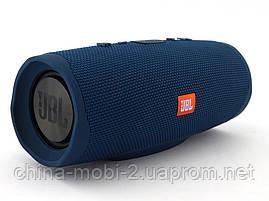 JBL Charge 4+ 20W AAA top реплика, Bluetooth колонка с FM MP3, синяя, фото 2