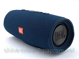 JBL Charge 4+ 20W AAA top реплика, Bluetooth колонка с FM MP3, синяя, фото 3
