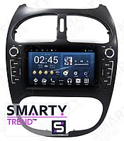 Штатная магнитола SMARTY Trend ST8U-516K6230 для Peugeot 206 Android