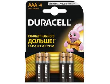Батарейка Duracell 4xAAA MN2400