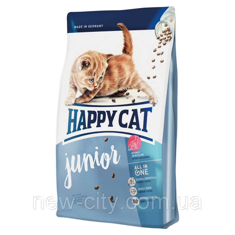 Корм Happy cat (Хэппи Кэт) JUNIOR корм для котят 10кг