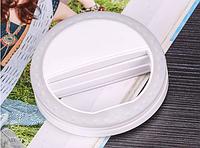 Светодиодное кольцо для селфи (салатовый) белый